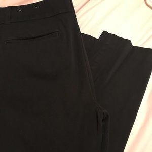 Loft crop BLACK trousers